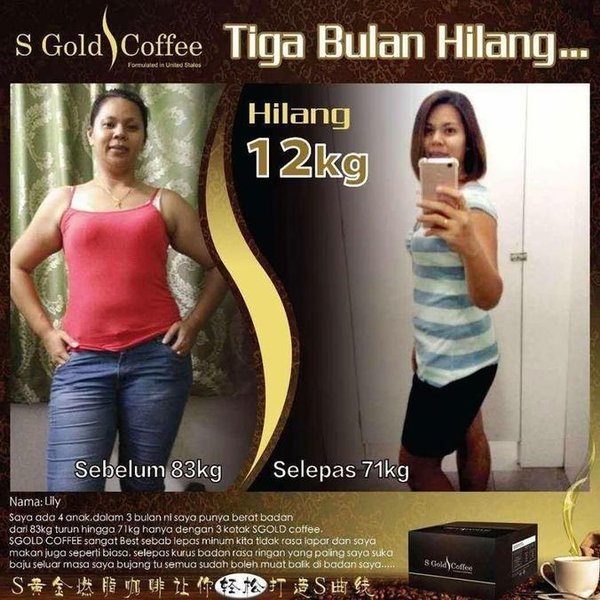 Gold Slimming Coffee